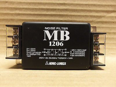 New Nemic-Lambda Noise Filter, Mb1206