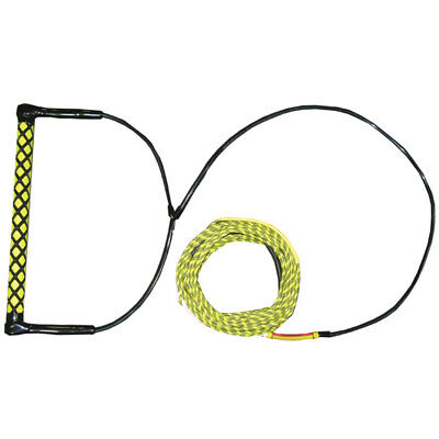 Konex Wakeboard Comp Rope With Eva Handle - Yellow (Kc2) Skiing Wakeboard