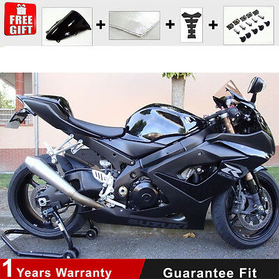Fairing 05 06 for Suzuki GSXR 1000 K5 K6 Injection Plactic All Black Bodywork