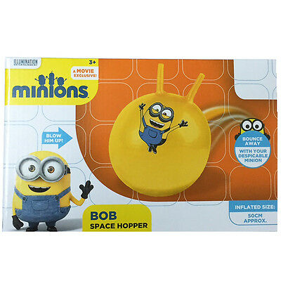 Despicable Me Minions Bob Space Hopper Bouncing Fun Kids Hop Inflatable Gift New