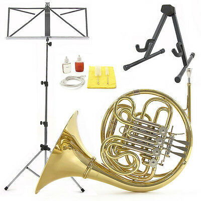 New Student French Horn Beginner Pack by Gear4music