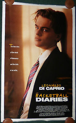 The Basketball Diaries 1995 Original Rolled Ds 1 Sheet Movie Poster Dicaprio