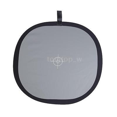 30cm Foldable Grey/White Balance 18% Grey Gray Reference Reflector Card PW6R