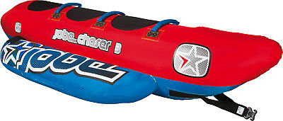 Jobe Chaser 3P Inflatable Towable Ski Tube Watersports Fun Boating