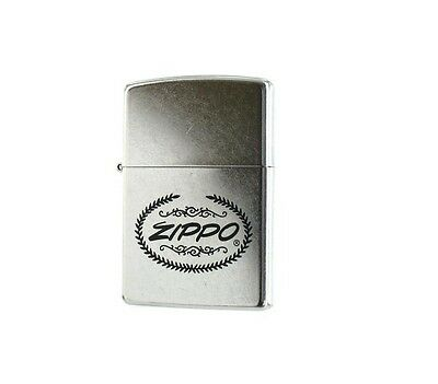 Personalised  Zippo Plaque Street Chrome Zippo Lighter Engraved Gift