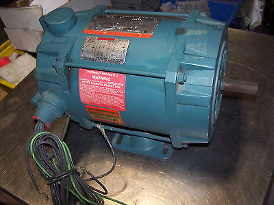New Reliance 1/4 Hp Explosion Proof Ac Motor Hr56 1140 Rpm 115/230 Volt 1 Phase