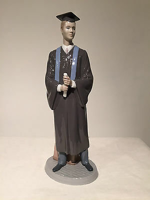 Lladro figurine His Commencement 01008397 Graduate New Original Box Free Shippin