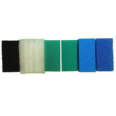 Full Set of Compatible Filter Foams For Juwel Standard / BioFlow 6.0