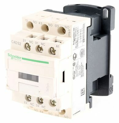 Schneider Electric TeSys Control Relay AC / DC Operating Contactor 10A 24V AC