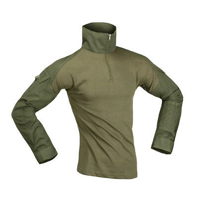 Invader Ubacs Combat Shirt Od Green Special Ops Style Army Airsoft