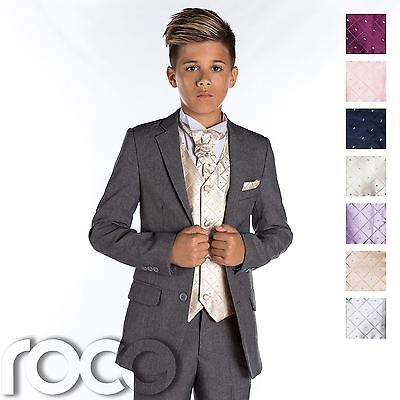 Boys Grey Suit, Slim Fit Suit, Boys Prom Suit, Grey Page Boy Suit, Boys Suit