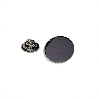 Plain Oval Engravable Lapel Pin Badge Shirt Collar Brooch Mens Present