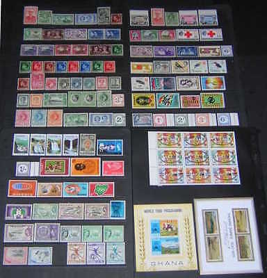 British Africa mint collection 114 diff stamps