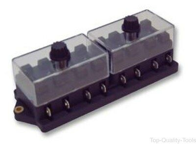 FUSE BOX WITH COVER - 8 WAY - Part Number 599/C