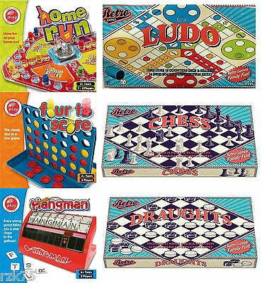 Board Games For The Whole Family, Kids Traditional Retro Board Game Fun Gift