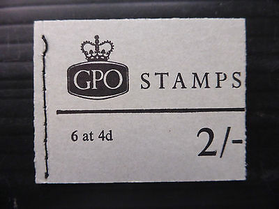 GB 1969 September 2/- Machin Pre Decimal Booklet NP37 NEW SALE PRICE FP4448