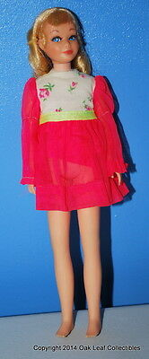 VINTAGE Barbie Blond Hair TNT SAUSAGE CURL SKIPPER Doll nice!