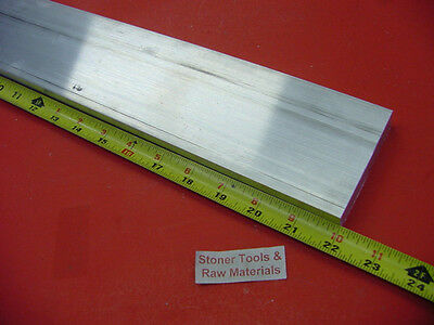 "1/2"" X 4"" ALUMINUM 6061 T6511 SOLID FLAT BAR 22"" long Plate NEW Mill Stock .50"""