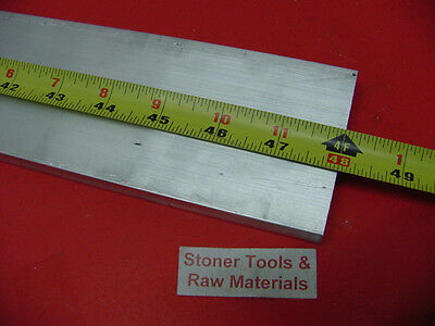 "1"" X 3-1/2"" ALUMINUM 6061 FLAT BAR 48"" long T6511 Solid Plate Mill Stock 1.0 3.5"