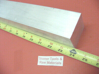 "2-1/4"" X 2-1/4"" ALUMINUM SQUARE 6061 SOLID BAR 24"" long T6511 Mill Stock 2.25"