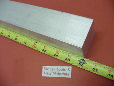 "2-1/4"" X 2-1/4"" ALUMINUM SQUARE 6061 SOLID BAR 36"" long T6511 Mill Stock 2.25"
