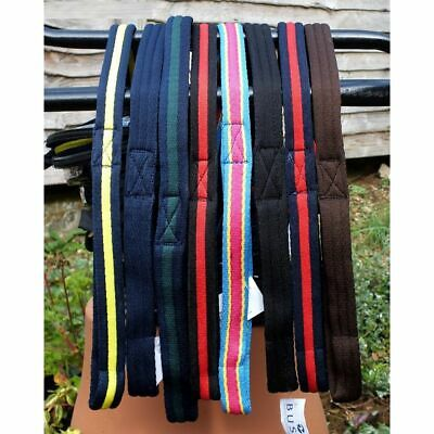 Busse Cushion Web Soft Lunge Rein 8m Choice of 10 Colours
