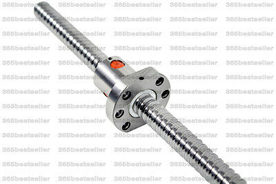 200-3000mm SFU1605 Ballscrew Anti Backlash Rolled Ballscrew with NO endmachined