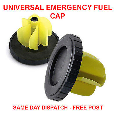 Universal Emergency Fuel Cap Petrol Diesel Replacement Fuel Cap Flexible Design