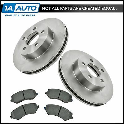 Front Ceramic Disc Brake Pad & Rotor Kit Set RAYBESTOS for 02-07 Jeep Liberty