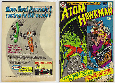 The Atom & Hawkman #41 (Fine) 1969 by DC Comics
