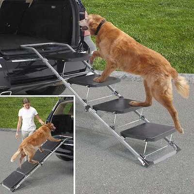 Foldaway Vehicle Dog Ramp Steps - Ideal for older dogs or those with arthritis!!