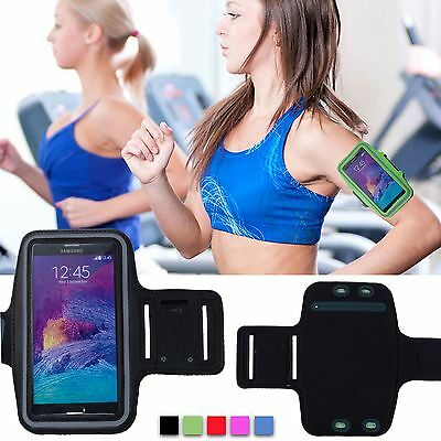 Sport Exercise Gym Running Jogging Armband Case For Samsung Galaxy Note 4 5 S8+