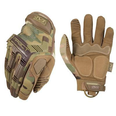 Mechanix Wear Assault M-Pact Camo Gloves Multicam Airsoft Protection Knuckle
