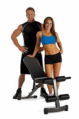 Marcy Multipurpose Home Gym Workout Utility Slant Board Bench | SB228