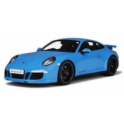 GT Spirit GT085 Porsche 911 Carrera 4S Blue 1:18 Scale Resin Model Car