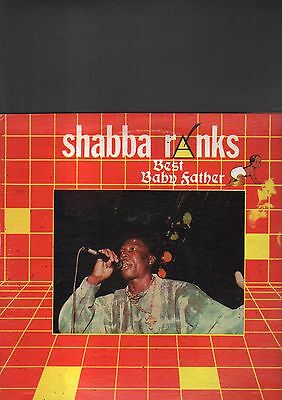 SHABBA RANKS - best baby father LP