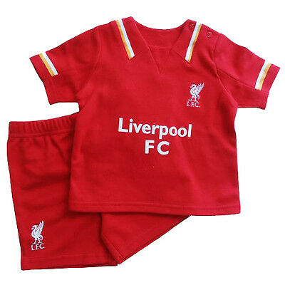 30653493d Liverpool Fc Red Home Kit Shirt   Short Set Baby Childrens Clothing All  Sizes
