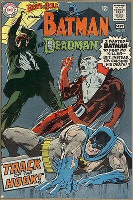 Brave And The Bold #79 - VG - Neal Adams Art
