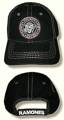 "RAMONES, THE - HAT/CAP ""Seal Logo Patch"" Licensed Authentic NEW"