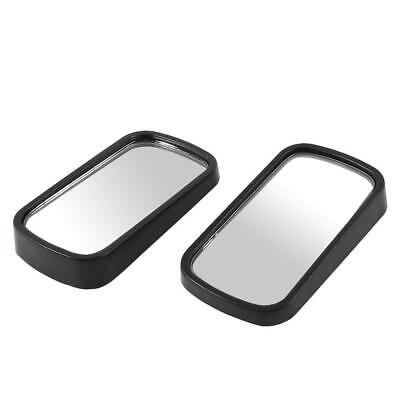 New Blind Spot Mirror Child Safety Rectangular Stick On Extra Angle X2 Easy Park