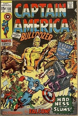 Captain America #133 - FN/VF