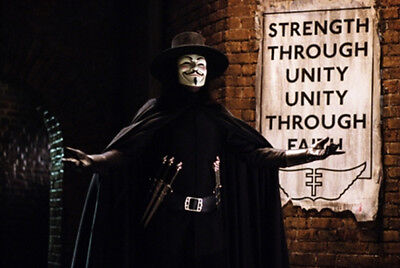 Look-a-Like V for VENDETTA HAT - Movie Film DVD Apparel - Guy Fawkes - AWESOME!
