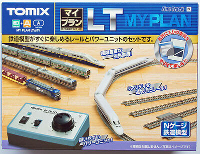 Tomix 90947 Track Set (Layout LT) with Power Controller (N scale)