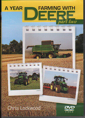 FARMING TRACTOR DVD: A YEAR FARMING WITH JOHN DEERE - Part two