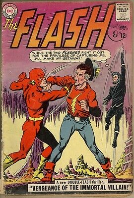 Flash #137 - G/VG - 1st Silver Age Vandal Savage