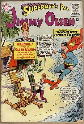 Superman's Pal, Jimmy Olsen #85 - G/VG