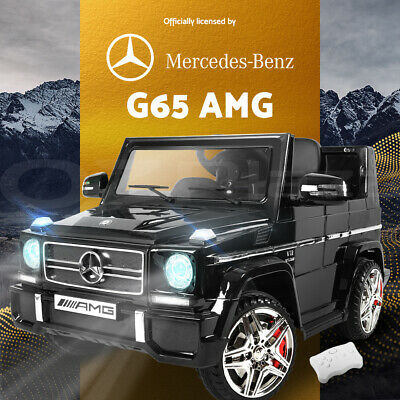 Kids Ride-On Car Licensed Mercedes-Benz AMG G65 Electric Toy 12V Remote