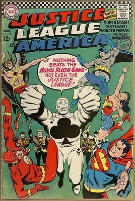 Justice League Of America #43 - VG-