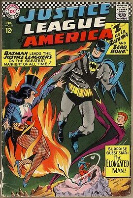 Justice League Of America #51 - VG-