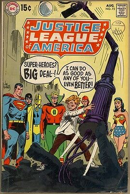 Justice League Of America #73 - G+
